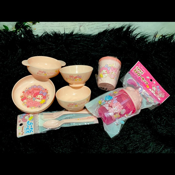 Sanrio My Melody tableware for kids